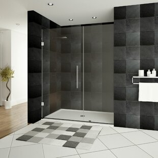 Ultra E 54 X 72 Hinged Shower Doors With Side Panel