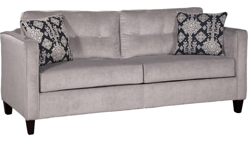 Ebern Designs  Dengler Upholstery Queen Sleeper Sofa