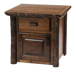 Fireside Lodge Hickory End Table