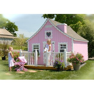 Gingerbread DIY Kit 8' X 10' Playhouse By Little Cottage Company