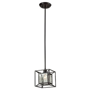 Norridge 1-Light Square/Rectangle Pendant by Brayden Studio