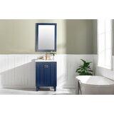 22  Wood Framed Mirror Vanity Set by InFurniture