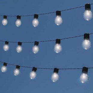 Check Prices Socialite 10-Light Globe String Light Best Buy