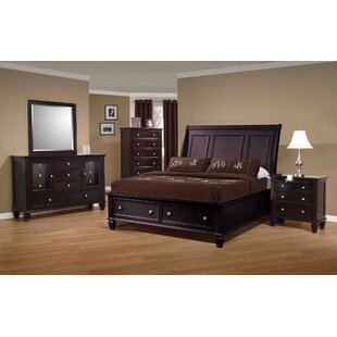Shira Storage Platform Bed