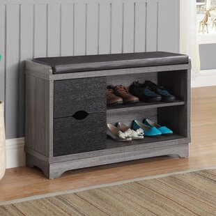 6 Pair Shoe Storage Cabinet By Loon Peak