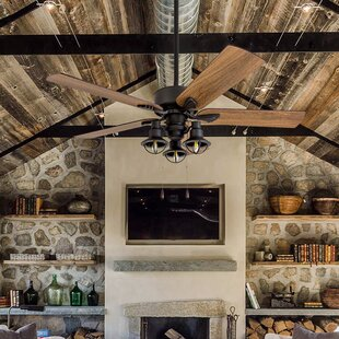 Awesome Cottage U0026 Country Ceiling Fans Youu0027ll Love | Wayfair
