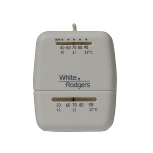 Heating Lever Mechanical Thermostat By White Rodgers