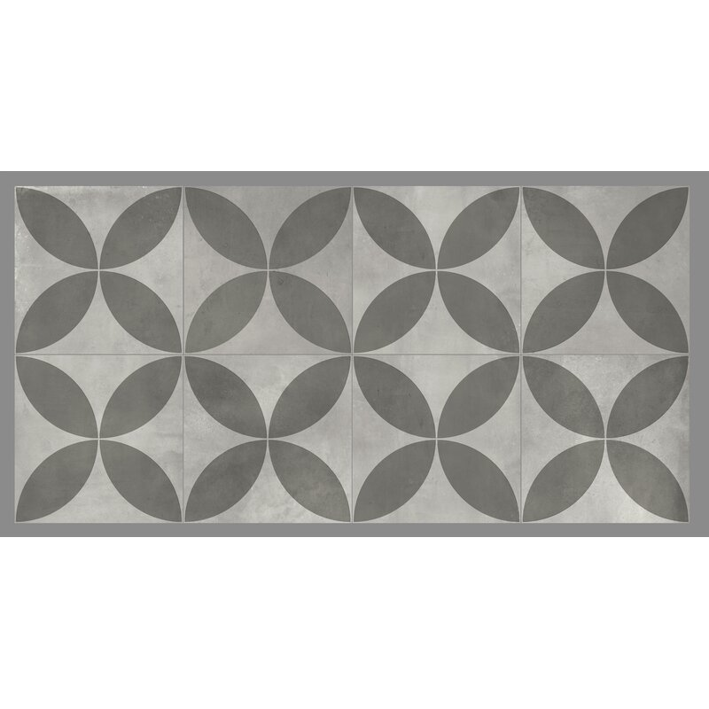 Mulia Tile Gallery 8 X 8 Ceramic Field Tile In Avila Gray Wayfair