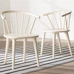 Dora Grove Solid Wood Dining Chair (Set of 2) August Grove