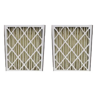GeneralAire 14201 and 4501 Pleated Furnace Air Filter (Set of 2)