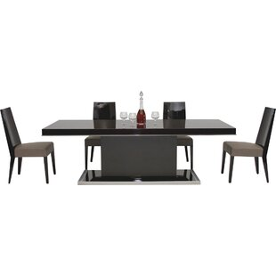 Camron Modern Pedestal Base Dining Table Orren Ellis