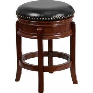 Affordable Jenkin  24'' Swivel Bar Stool by Charlton Home