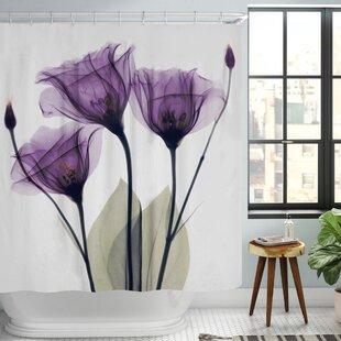 Castile Gentian Single Shower Curtain