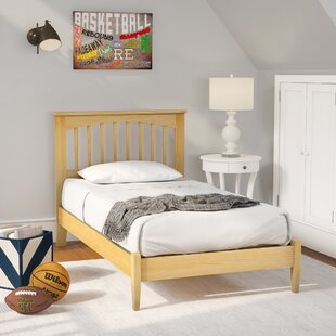 Shop For Poynor Maple Platform Bed by Harriet Bee Reviews (2019) & Buyer's Guide