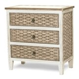 Eversole 3 Drawer Standard Dresser/Chest by Bay Isle Home