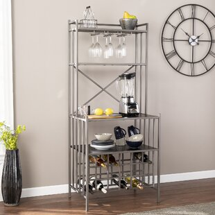 Anneliese Iron Baker's Rack by Latitude Run
