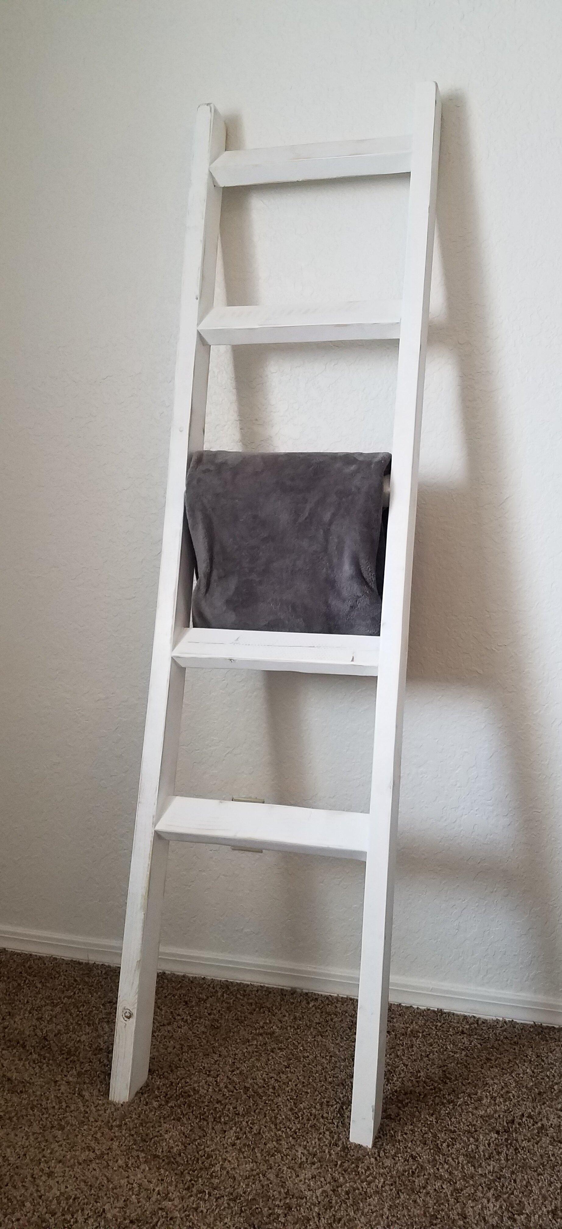 Gracie Oaks Blanket Ladder Reviews Wayfair