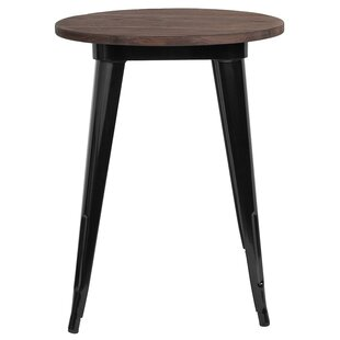 Savings Jacalyn Metal Indoor Bistro Table Best reviews