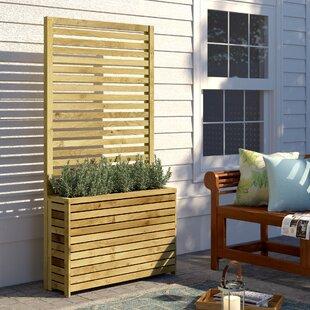 Olivia Wooden Planter Box Image