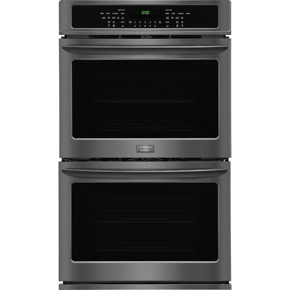 Frigidaire Gallery Series 30 Self Cleaning Convection Electric Double Wall Oven Wayfair