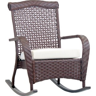 Bloomsbury Market Allerdale Rocking Chair with Cushion