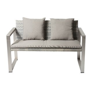 Tunney Sofa with Cushion by Rosecliff Heights