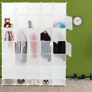 Symple Stuff 180cm Wide Clothes Storage System By Symple Stuff