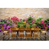 Foust 11 Piece Teak Dining Set with Cushions