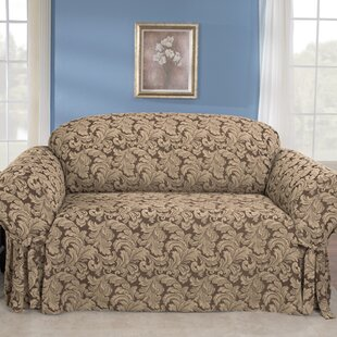 Comparison Scroll Classic Box Cushion Sofa Slipcover by Sure Fit Reviews (2019) & Buyer's Guide