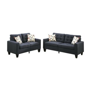 Affordable Price Gamache 2 Piece Living Room Set by Ebern Designs Reviews (2019) & Buyer's Guide