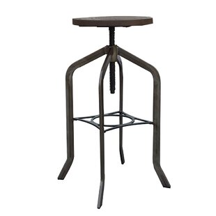 Mcatee Adjustable Height Swivel Bar Stool..