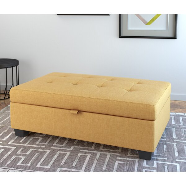 Brilliant Gold Storage Ottoman Wayfair Pdpeps Interior Chair Design Pdpepsorg