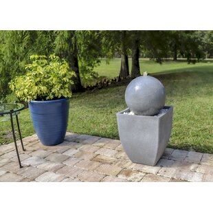 Willow Resin Fountain with Light
