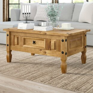Maumelle Coffee Table With Storage By Marlow Home Co.