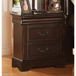 Starks 3 Drawer Nightstand