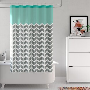 Zakary Shower Curtain by Zipcode Design