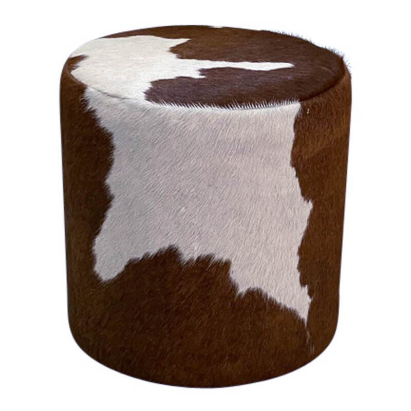 Foundry Select Weigel Solid Wood Accent Stool