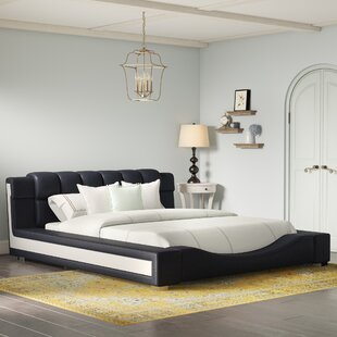 Augu Upholstered Platform Bed