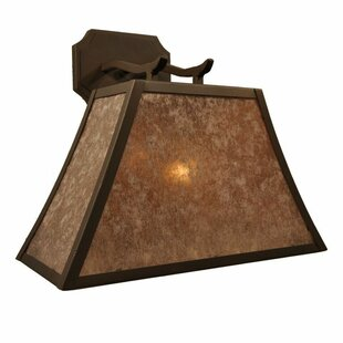 Top Reviews Summit 1-Light Outdoor Wall Lantern By Steel Partners
