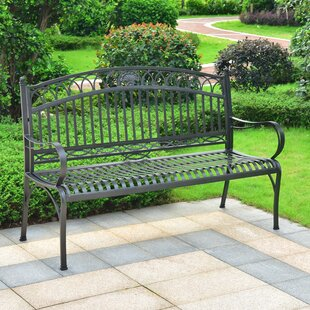 Oak Bluffs Iron 3-Seater Garden Bench