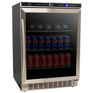 5.1 cu. ft. Beverage center with Freezer