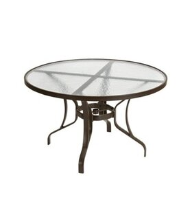 Arzo Glass Dining Table by Tropitone
