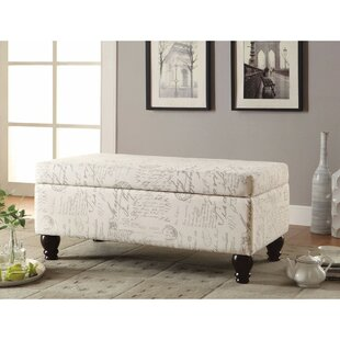 Walmsley Upholstered Storage Bench by Ophelia & Co. Wonderful