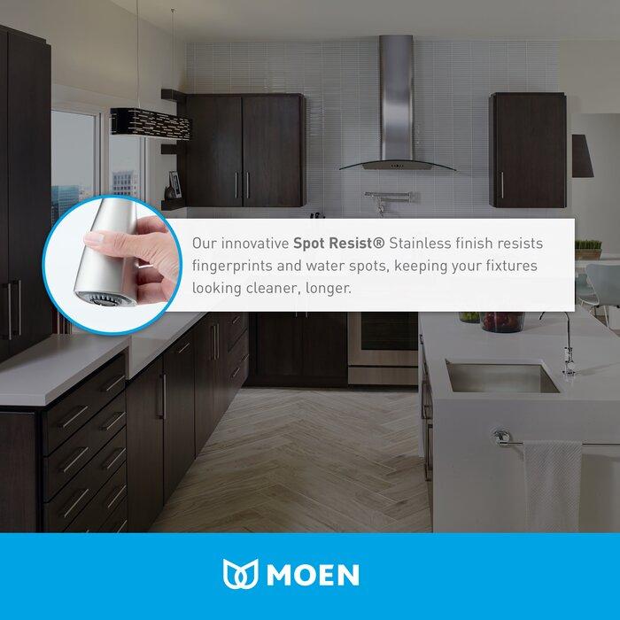 90 Degree Single Handle Kitchen Faucet
