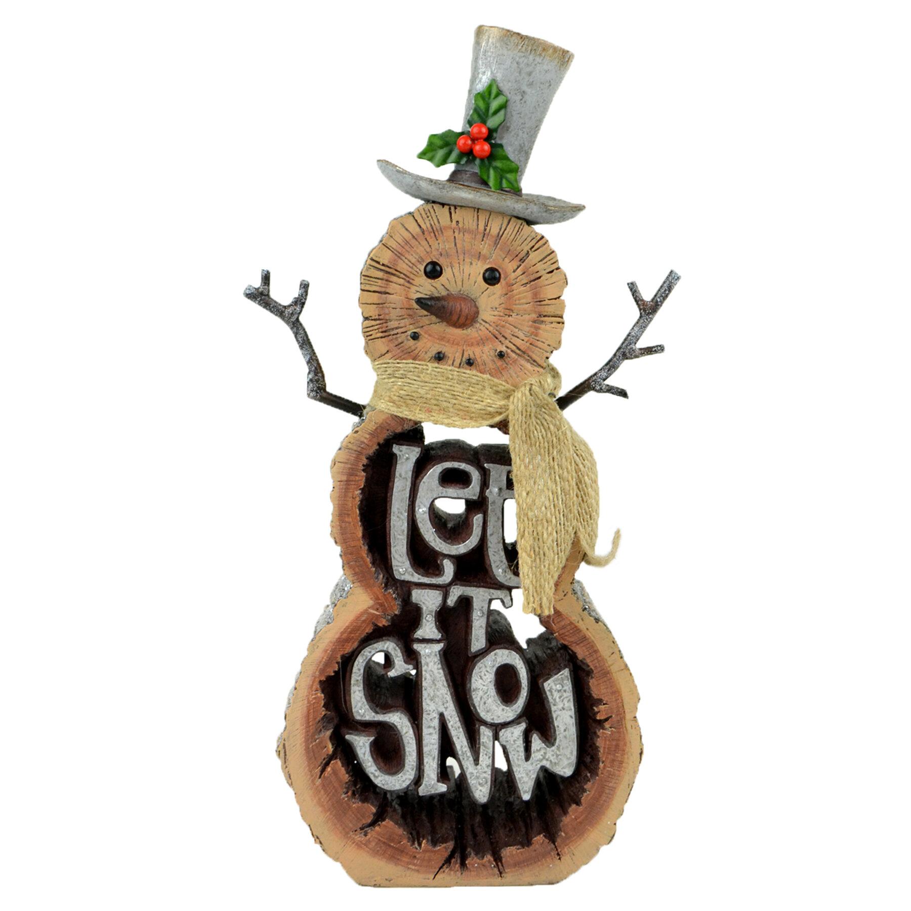 Brown Snowmen Figurines You Ll Love In 2021 Wayfair