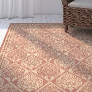 Romola Rust/Sand Indoor/Outdoor Area Rug