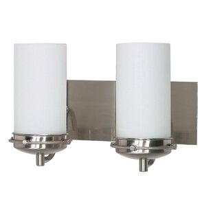 Best Price Nabors 2-Light Vanity Light By Ebern Designs