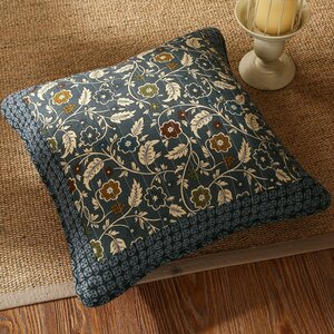 Royal Chambers Patchwork Floral Cotton Pillow Cover (Set of 2)