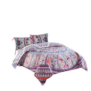 Bungalow Rose Verdell Reversible Comforter Set