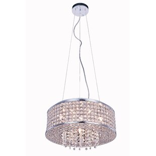 House of Hampton Anglesey 6-Light Crystal Chandelier